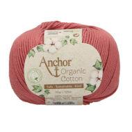 Anchor Organic Cotton 895  vintage rózsaszín