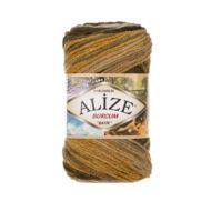 Alize Burcum Batik - 5850 (mustár-zöld-barna színátmenetes)