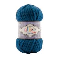 Alize Velluto 646 kék