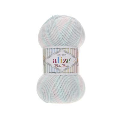 Alize Baby Best Batik - 6623 (rózsaszín-kék színátmenetes)