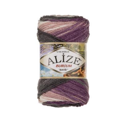 Alize Burcum Batik - 1986 (padlizsán-szürke-fehér színátmenetes)