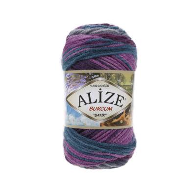 Alize Burcum Batik - 3366 (szürke-lila-színátmenetes)