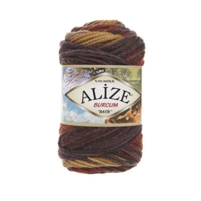 Alize Burcum Batik - 3379 (mustár-rozsdabarna színátmenetes)