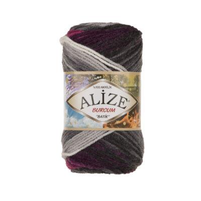 Alize Burcum Batik - 4202 (szürke-mályva-fehér színátmenetes)