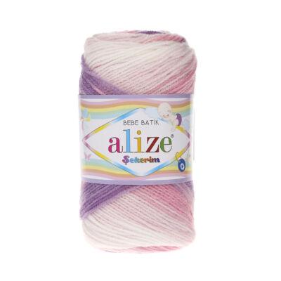 Sekerim Bebe Batik 2135 fehér-lila-rózsaszín színátmenetes
