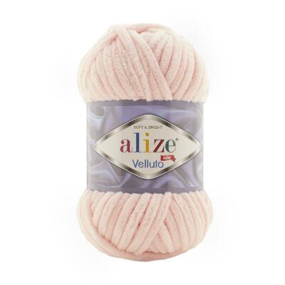 Alize Velluto 340 púder rózsaszín